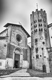 Igreja medieval de St Andrea, Orvieto, Itália Fotografia de Stock Royalty Free