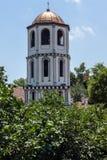 Igreja medieval do St Constantim e do St Elena na cidade velha de Plovdiv, Bulgária imagens de stock royalty free