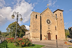 Igreja medieval em Bolsena, Viterbo, Lazio, Itália Fotos de Stock Royalty Free