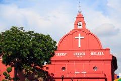 Igreja Melaka de Christ foto de stock