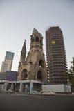 Igreja memorável de Kaiser Wilhelm em Berlim Fotografia de Stock