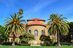 Igreja memorável em Stanford University imagens de stock