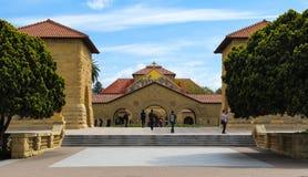 Igreja memorável em Stanford University imagem de stock