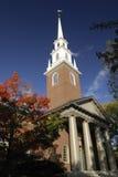 Igreja memorável, Universidade de Harvard Fotografia de Stock Royalty Free
