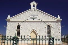 Igreja metodista de Moonta (parte dianteira imagem de stock royalty free