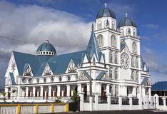 Igreja metodista de Samoa fotografia de stock royalty free