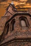 Igreja metodista evangélica velha Imagens de Stock