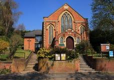 Igreja metodista primitiva fotografia de stock