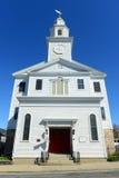 A igreja metodista unida de St Paul, Newport, Rhode - ilha fotografia de stock