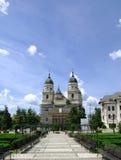 Igreja metropolitana de Moldova e de Bucovina Foto de Stock Royalty Free