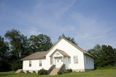 Igreja midwestern pequena imagem de stock