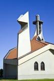 Igreja moderna imagens de stock