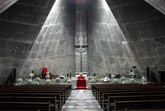 Igreja moderna Foto de Stock