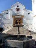 Igreja-Moeda-MALAGA-ESPANHA de San Juan Foto de Stock