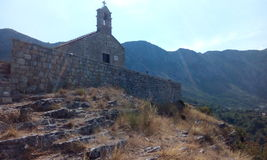 Igreja Montenegro Fotografia de Stock