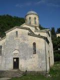 A igreja na Abkhásia Fotografia de Stock Royalty Free
