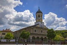 Igreja na cidade Fotografia de Stock Royalty Free
