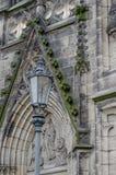 Igreja na cidade de Chrudim Fotografia de Stock
