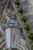 Igreja na cidade de Chrudim Fotos de Stock