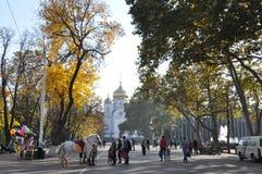 Igreja na cidade de Krasnodar Fotos de Stock Royalty Free