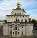 Igreja na cidade de Suzdal foto de stock