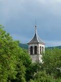 Igreja na floresta Fotografia de Stock