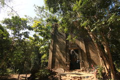 Igreja na floresta Imagem de Stock Royalty Free