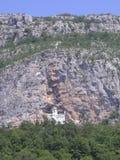 Igreja na pedra foto de stock