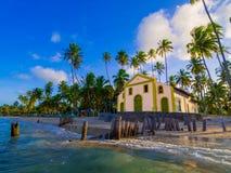 Igreja na praia Imagens de Stock