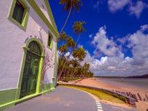 Igreja na praia Imagem de Stock Royalty Free