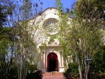 Igreja na primavera imagem de stock