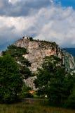 Igreja na rocha Fotografia de Stock