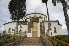 Igreja na vila de Dranda Foto de Stock