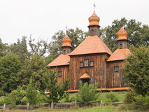 Igreja na vila ucraniana. Imagem de Stock Royalty Free