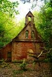 A igreja nas madeiras Imagens de Stock Royalty Free