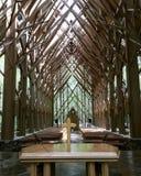 Igreja nas madeiras Fotografia de Stock Royalty Free