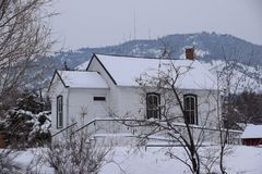 Igreja nas montanhas Fotos de Stock