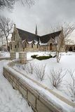 Igreja nevado Foto de Stock