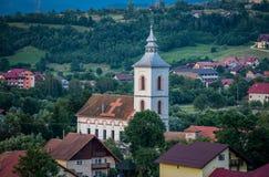 Igreja no aera do farelo Fotografia de Stock