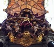 Igreja no anjo holandês fotos de stock royalty free