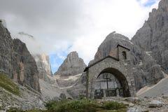 Igreja no Brenta Fotografia de Stock