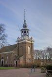 Igreja no centro de Urk imagem de stock royalty free
