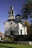 Igreja no cetinje, Montenegro fotos de stock royalty free