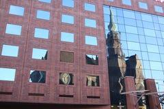 Igreja no espelho Imagem de Stock