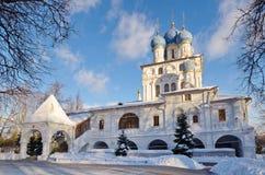 Igreja no Kolomenskoye complexo arquitetónico, Moscou de Kazan, Rússia Foto de Stock Royalty Free
