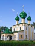 Igreja no monastério de Alekseevsky Foto de Stock Royalty Free