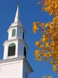 Igreja no outono Foto de Stock