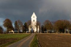 Igreja no país Foto de Stock Royalty Free