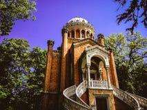 A igreja no palácio de Snagov imagem de stock royalty free