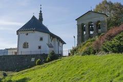 Igreja no Polônia Fotos de Stock Royalty Free